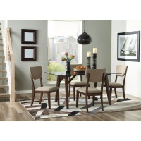 Joshton - Rectangular Dining Room Table & 4 UPH Side Chairs