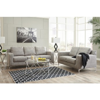 Ryler - Steel - Sofa & Loveseat