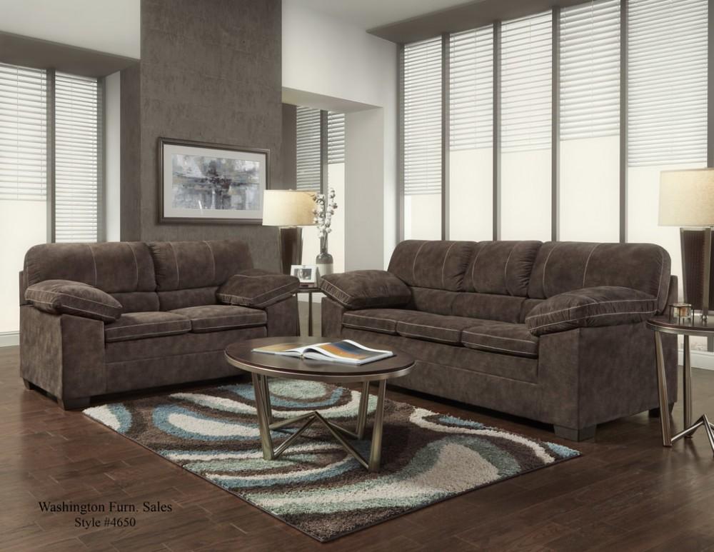 Cody Chocolate Sofa & Loveseat