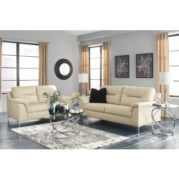 Tensas - Ice - Sofa & Loveseat