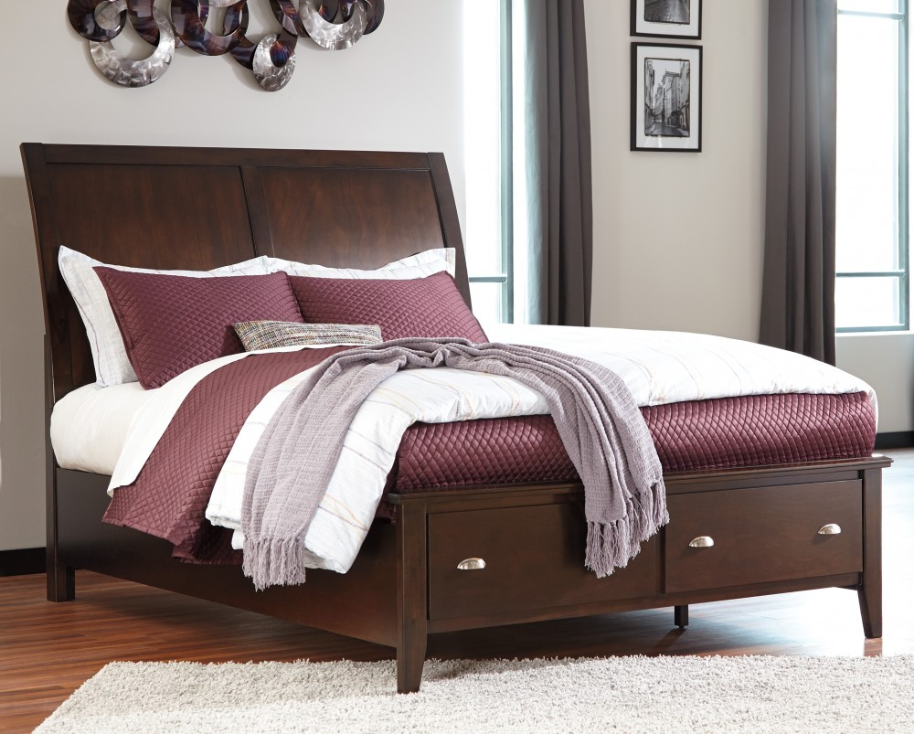 threshold width footboard hills with item products bassett storage trim sleigh vaughan rustic drawers queen height bed hillsqueen