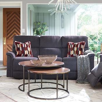 Oscar La-Z-Time PowerRecline with Power Headrest Full Reclining Sofa