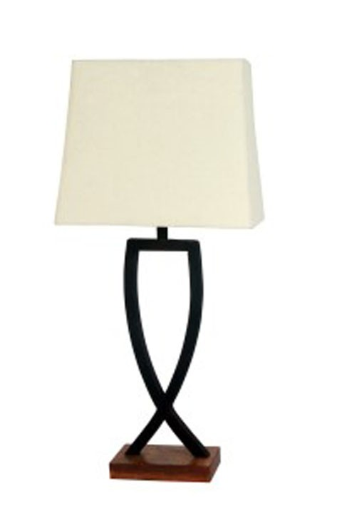 Makara blackbrown metal table lamp 2cn l204174 lamps makara blackbrown metal table lamp 2cn aloadofball Gallery