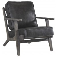 Trebbin - Dark Brown - Accent Chair