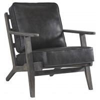 Trebbin - Dark Brown - Accent Chair