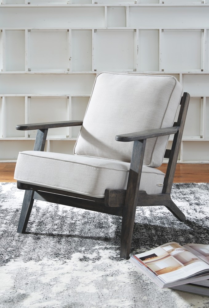 Marvelous Trebbin Cream Accent Chair A3000043 Chairs Coast Ocoug Best Dining Table And Chair Ideas Images Ocougorg