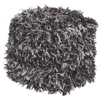 Gelsey - Black/White - Pouf