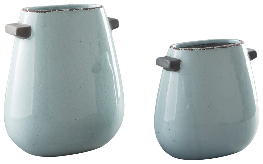 Diah - Blue - Vase Set (2/CN)