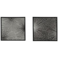 Dorinda - Black/White - Wall Art Set (2/CN)