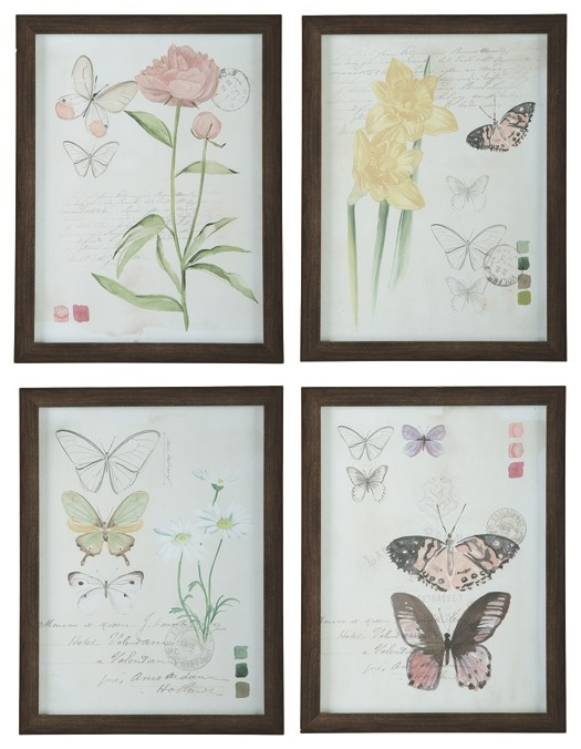 Carlisia - Multi - Wall Art Set (4/CN)
