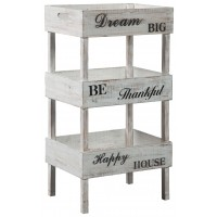 Yulton - Antique White - Storage Shelf