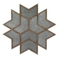 Bailee - Antique Gray/Natural - Wall Decor