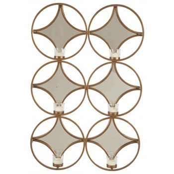 Emilia - Gold Finish - Wall Sconce