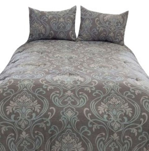 shop deal grey reversible miss set this rib queen seville comforter gray full don in ottoman t