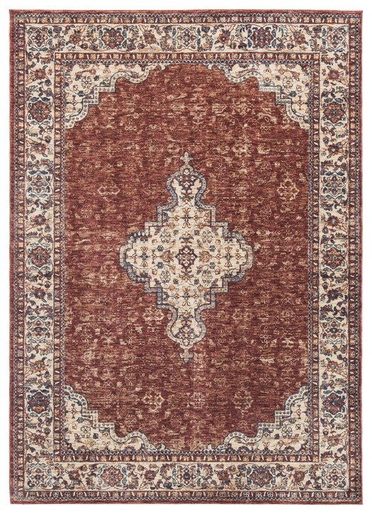 Haydrien - Red/Tan - Large Rug