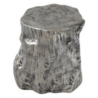 Majaci - Antique Silver Finish - Accent Table