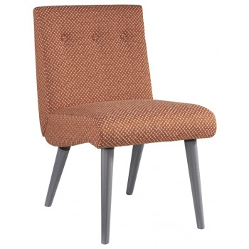 Zittan - Papaya - Accent Chair