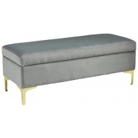 Bachwich - Gray - Storage Bench