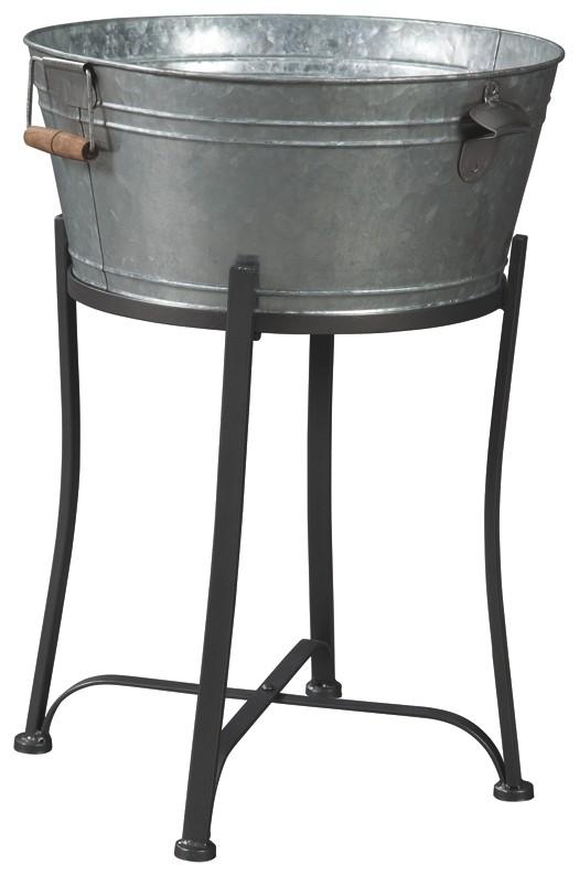 Valrock - Antique Gray - Beverage Tub