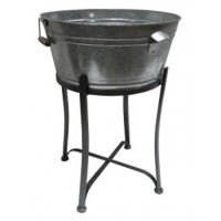 Valrock - Antique Gray - Beverage Tub