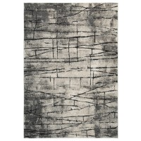 Casten - Black/Tan - Large Rug