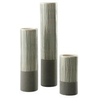 Elwood - Gray - Vase Set (3/CN)