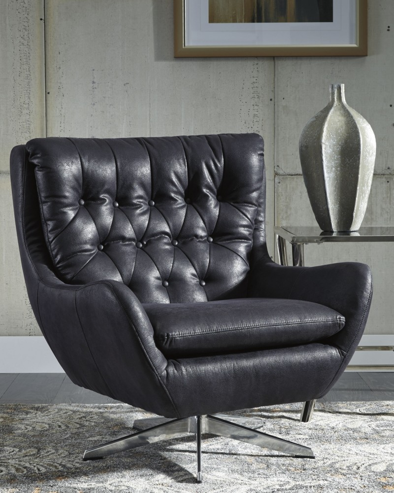 velburg black accent chair a3000094 chairs sime furniture