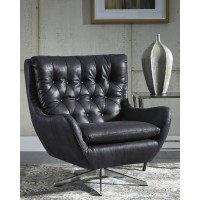 Velburg - Black - Accent Chair