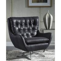 Velburg - Black - Accent Chair
