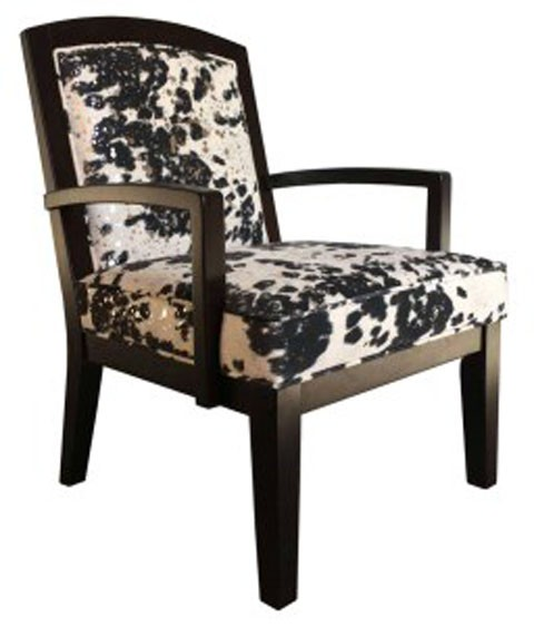 Exceptionnel Treven   Black/Cream/Silver   Accent Chair