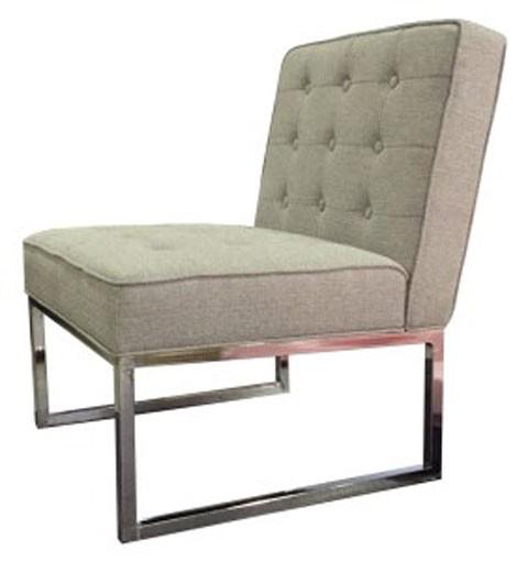 Fresh Grey Accent Chair Interior