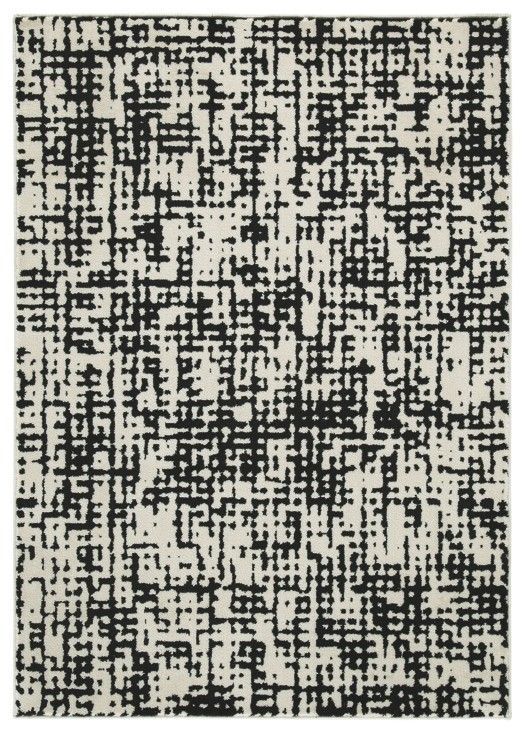 Caelee - Black/White - Medium Rug