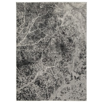 Cailey - Gray/White - Large Rug