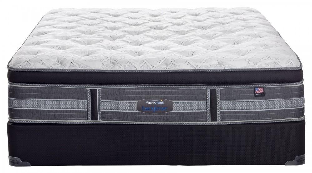 therapedic grand prairie pillow top mattress grand prairie pillowtop pillow top mattresses. Black Bedroom Furniture Sets. Home Design Ideas
