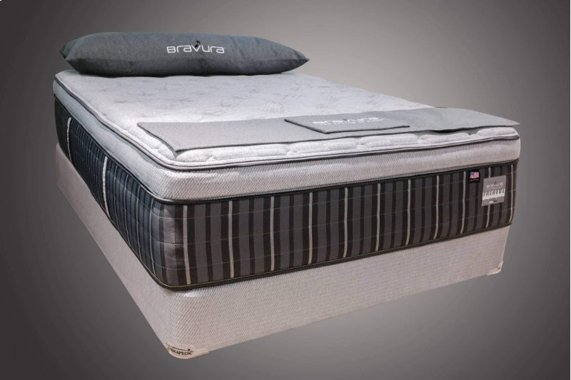 Therapedic Bravura Prelude Pillow Top Mattress & Foundation