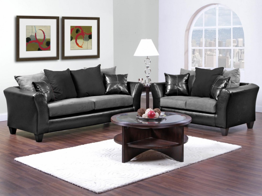Peachy Sierra 4170 Grey Sofa And Loveseat Interior Design Ideas Clesiryabchikinfo