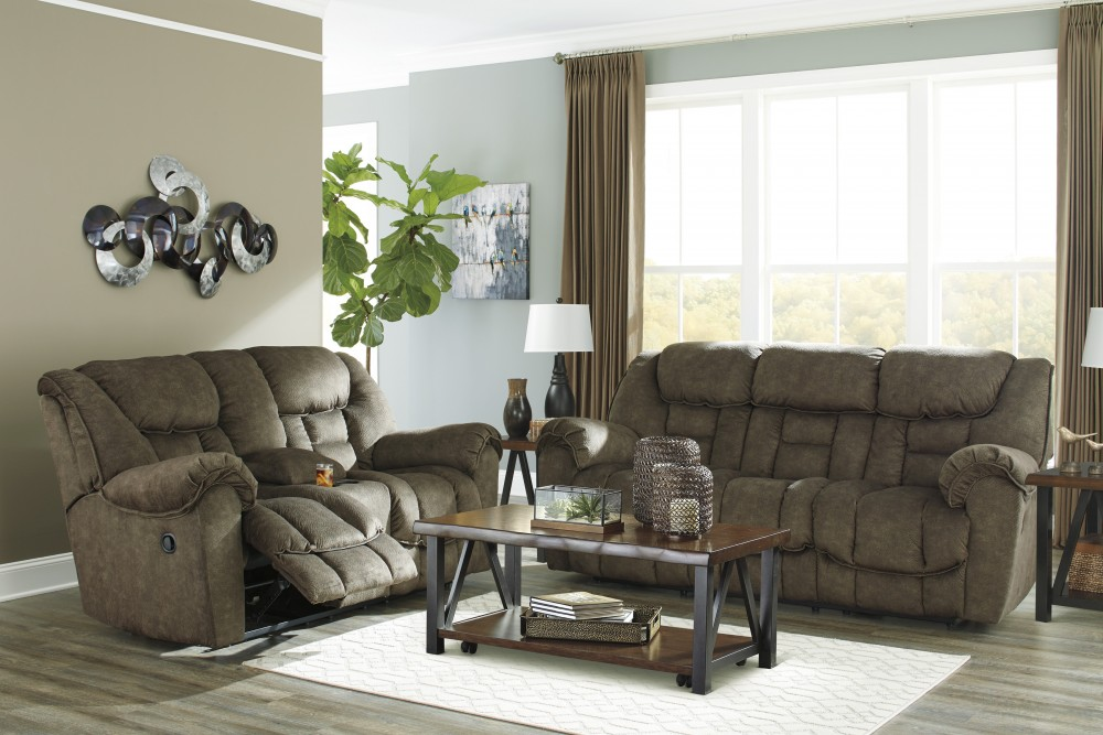 Capehorn - Earth - Reclining Sofa & Loveseat