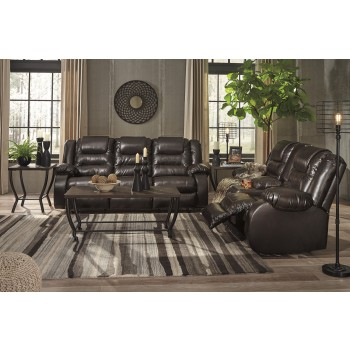Vacherie - Chocolate - Reclining Sofa & Loveseat