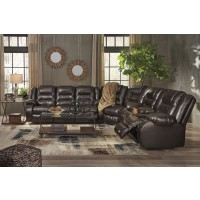 Vacherie - Chocolate 3 Pc. Reclining Sectional