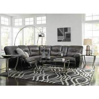 Leonberg - Slate 2 Pc. Reclining Sectional