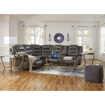 Walgast - Grey 2 Pc. Reclining Sectional