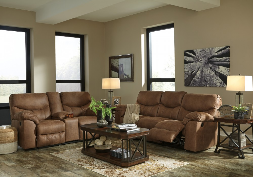 Boxberg - Bark - Reclining Sofa & Loveseat