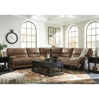 Grattis - Saddle 5 Pc. Power Reclining Sectional