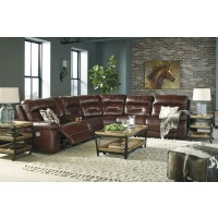 Bancker - Sienna 6 Pc. Power Reclining Sectional