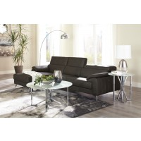 Tindell - Gray 2 Pc. LAF Corner Chaise Sectional
