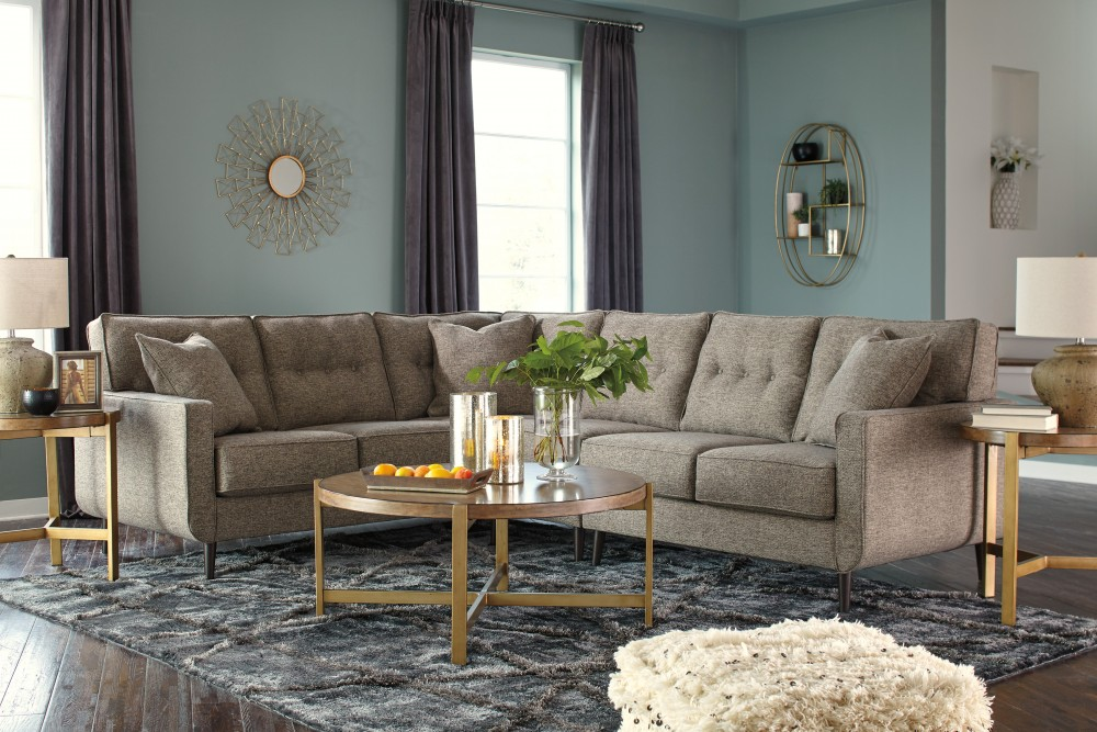 Dahra - Jute 3 Pc. LAF Sofa Sectional