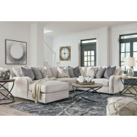 Dellara - Chalk 4 Pc. Corner Chaise Sectional