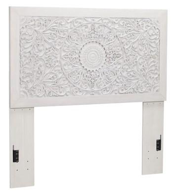 Paxberry White Wash Full Panel Headboard B181 87