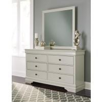 Jorstad - Gray - Bedroom Mirror