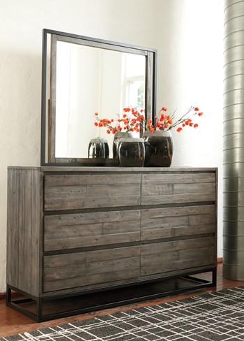 Cazentine - Gray/Black - Bedroom Mirror | B579-36 | Mirrors ...
